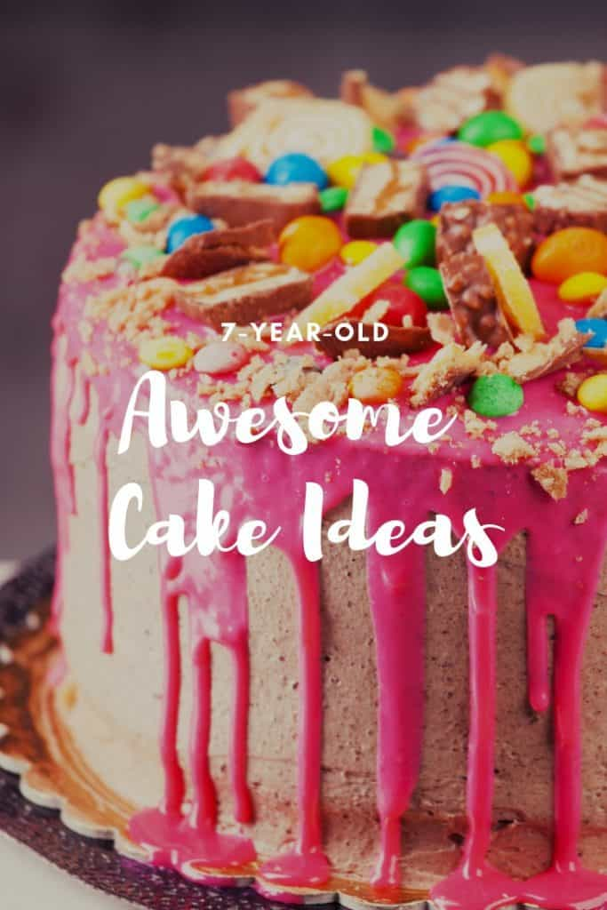 Phenomenal Awesome Cake Designs For A 7 Year Old 7 Year Olds Funny Birthday Cards Online Hetedamsfinfo